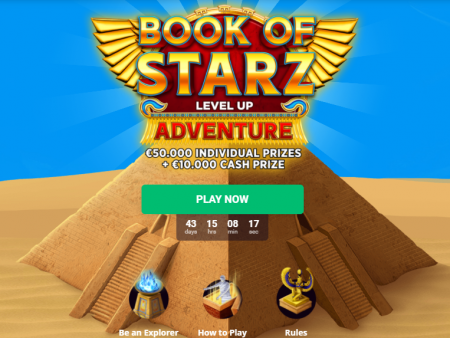 Book of Starz Level Up Adventure @ Bitstarz Casino