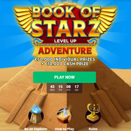 Book of Starz Level Up Adventure @ Bitstarz Casino
