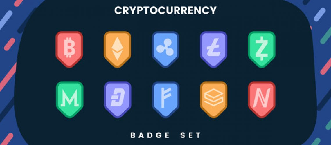 different crypto coins